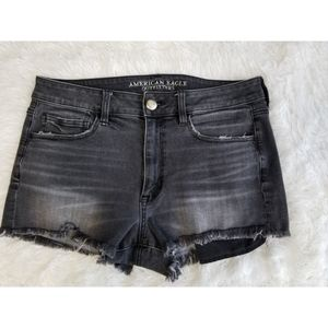American eagle high rise shorts.